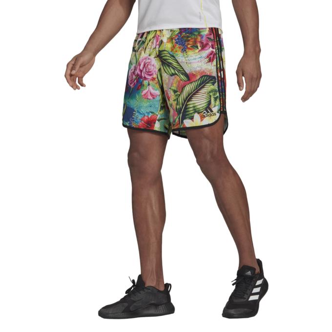 Pantalón Corto Adidas Floral