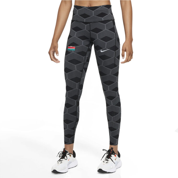 Mallas Nike Team Kenya Epic Luxe Mujer